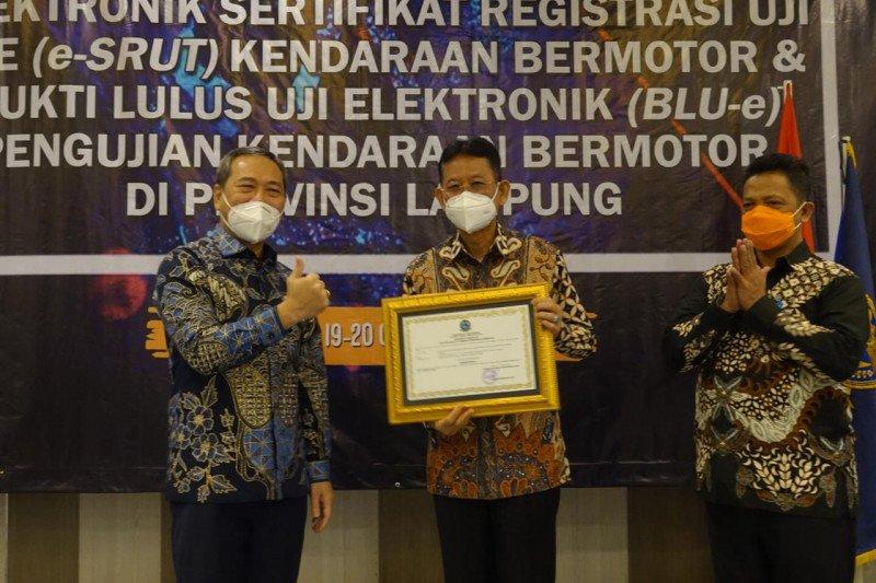 Dishub Lampung Tengah raih sertifikat Akreditasi A UPPKB