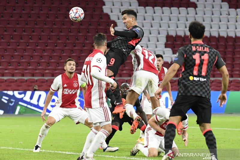 Liverpool curi poin penuh dari Ajax