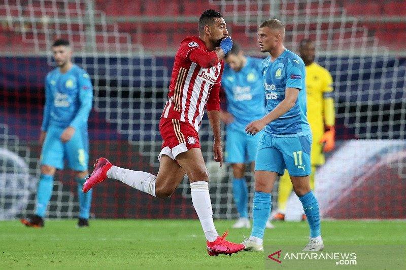Olympiakos menang dramatis atas Marseille