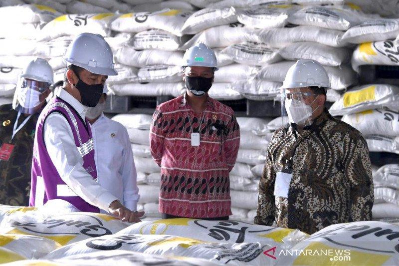 Presiden apresiasi Pabrik Gula Bombana serap ribuan tenaga kerja di tengah pandemi