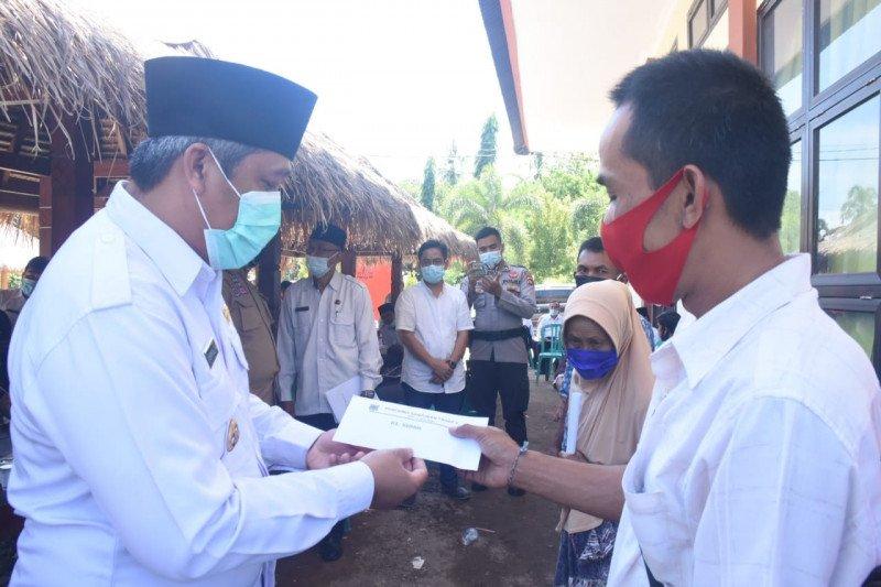 Plt Bupati monev pemdes di Tanjung, Pj Sekda di Pemenang