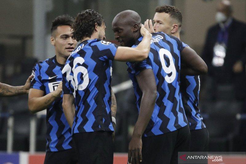 Inter berbagi poin dengan Gladbach