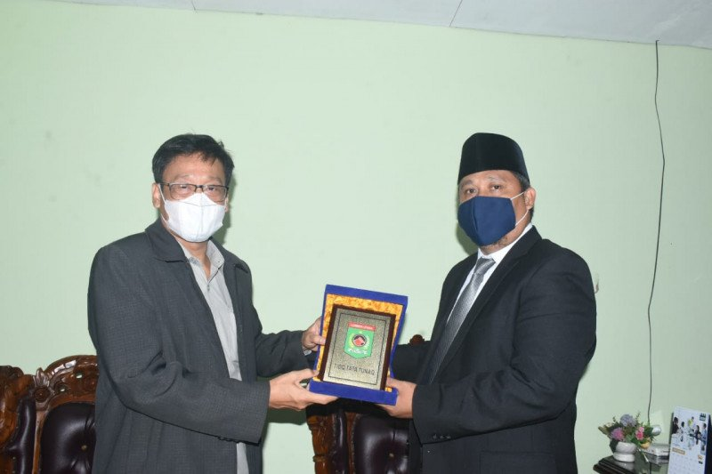 Plt Bupati Lombok Utara sambut Kaban PPSDMP Kementan meluncurkan Model BPP