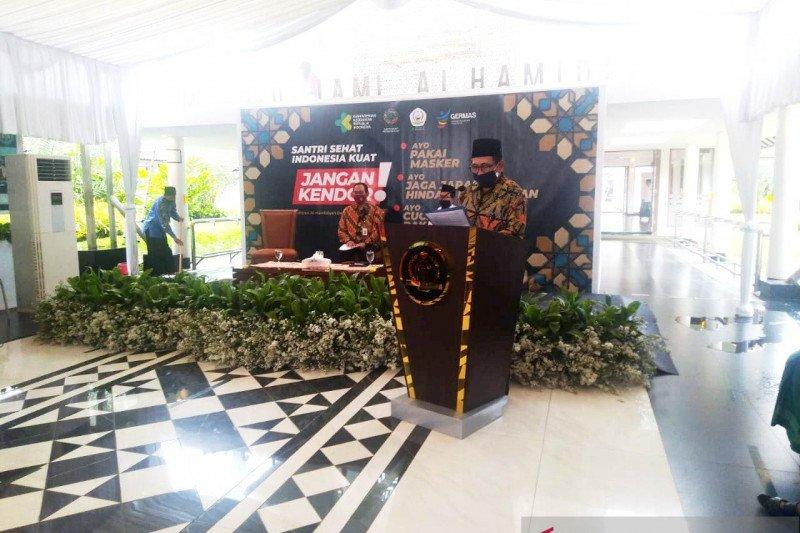 Pesantren Al-Hamidiyah Depok jadi percontohan penerapan protokol COVID-19