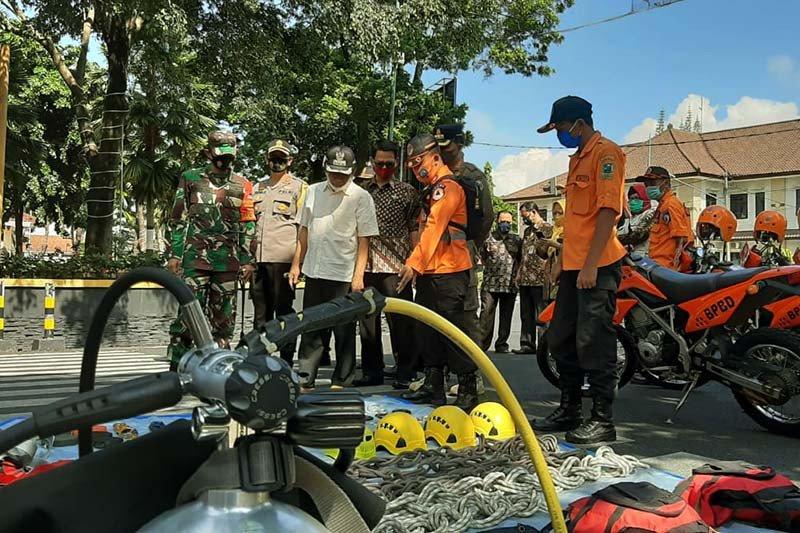 600 personel Polres Banjarnegara disiagakan antisipasi bencana