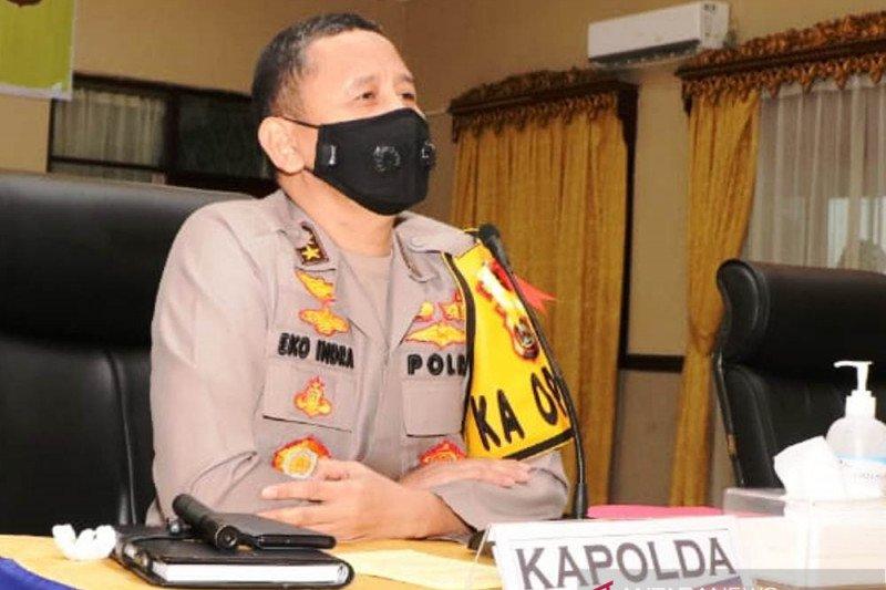 Personel Polda Sumsel  mendapat pembinaan cegah radikalisme