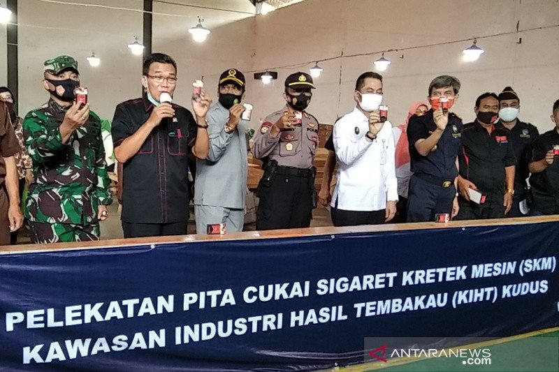 Kudus resmi miliki Kawasan Industri Hasil Tembakau