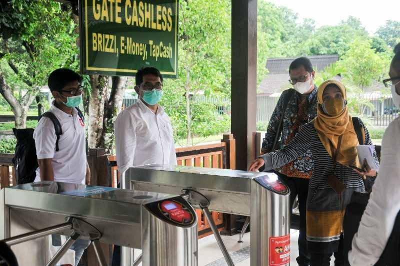 Taman Wisata Candi Borobudur, Prambanan dan Ratu Boko dukung transaksi nontunai