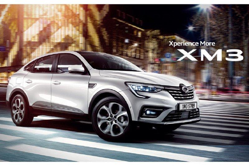 Produksi SUV XM3 dari Renault Samsung dilanjutkan