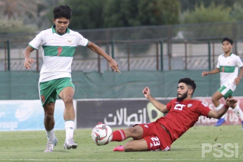 Pelatih Bima Sakti tak kecewa timnas U-16 kalah 2-3 dari UAE