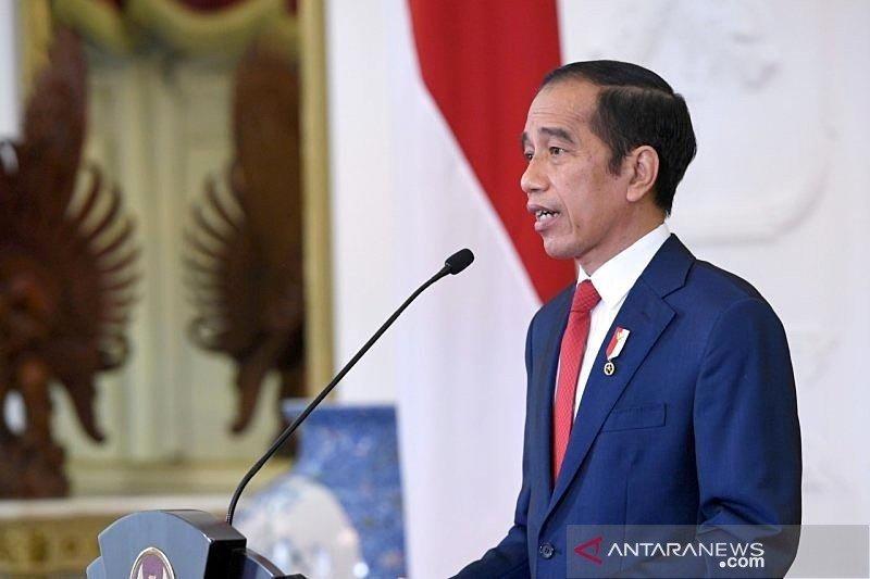 Presiden Joko Widodo melantik 12 duta besar untuk negara sahabat