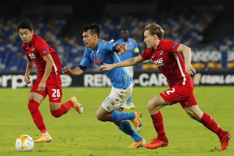 Napoli awali petualangan Liga Europa dengan kekalahan 0-1 dari AZ Alkmaar