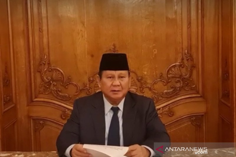 Menhan Prabowo: Hutan harus jadi sumber lapangan kerja