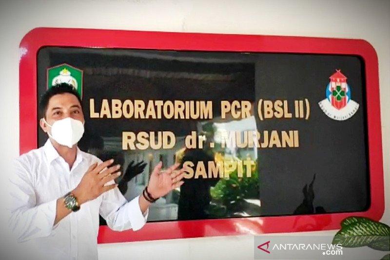 Laboratorium PCR RSUD Murjani Sampit mulai digunakan