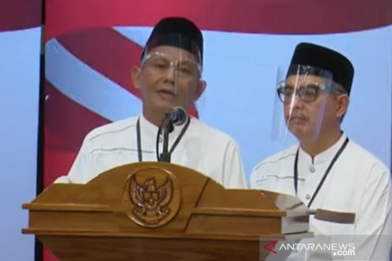 Usung slogan Berseri, Paslon Tamzil Ilham tampil bersemangat dalam debat