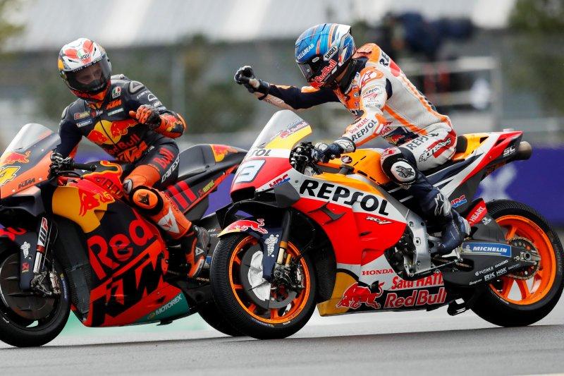 Begini cara Alex Marquez jinakkan motor Honda