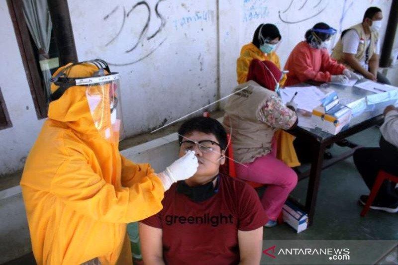 Tes Usap Massal Secara masif Di Makassar