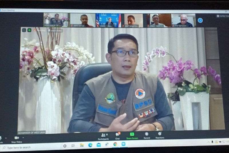 Gubernur Ridwan Kamil paparkan potensi ekonomi  Jabar di
