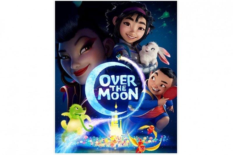 "Film animasi ""Over the Moon"", tontonan keluarga untuk akhir pekan"