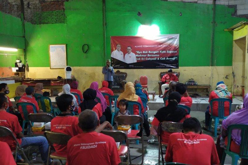 Aliansi Kebangsaan kota Surabaya gencar sosialisasikan visi-misi Eri-Armuji