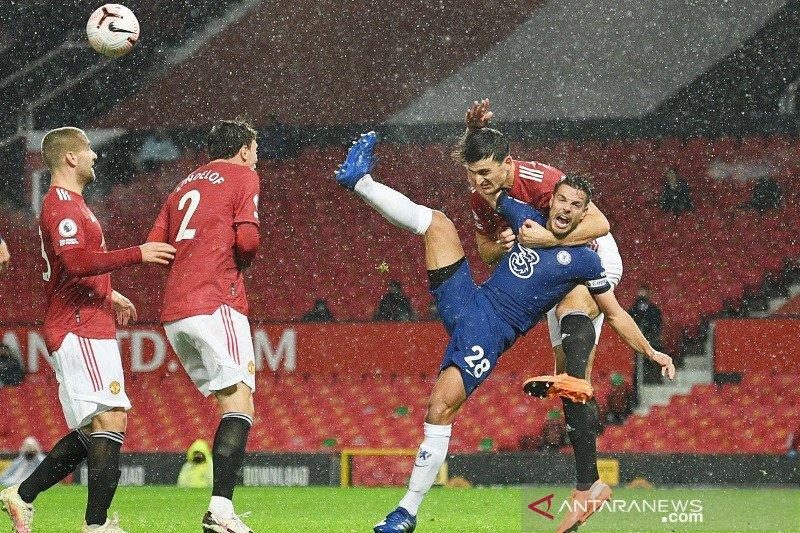 Lampard merasa kesal Chelsea tak dapat penalti lawan Manchester United
