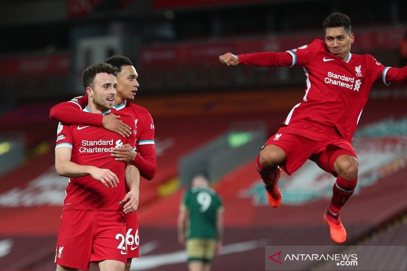 Liverpool kesulitan amankan tiga poin lawan Sheffield United