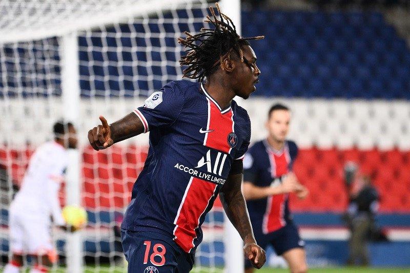 Moise Kean buka keran gol saat PSG gilas tamunya Dijon 4-0