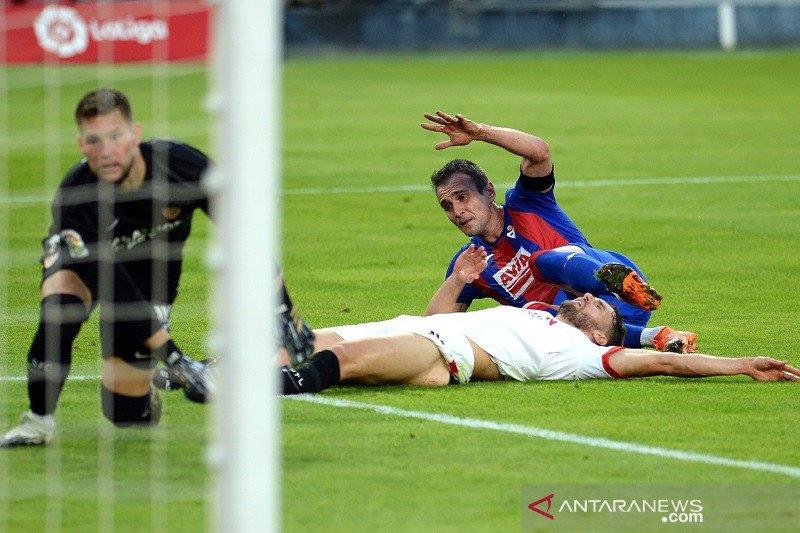 Ditekuk Eibar 1-0, Sevilla telan dua kekalahan beruntun