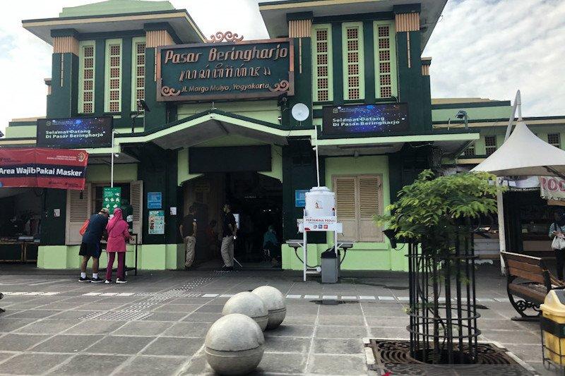 Pasar Beringharjo memperketat protokol kesehatan saat libur panjang