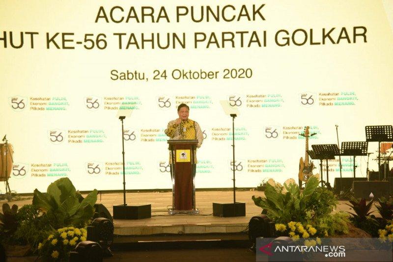 Golkar nyatakan kesetiaannya dukung pemerintahan Jokowi-Ma'ruf