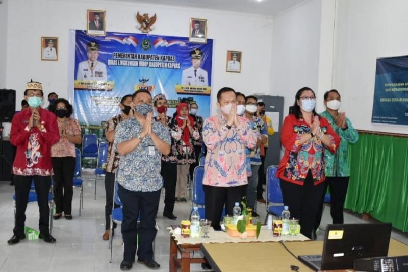 Pemkab Kapuas terima penghargaan Proklim dari Kementerian LHK