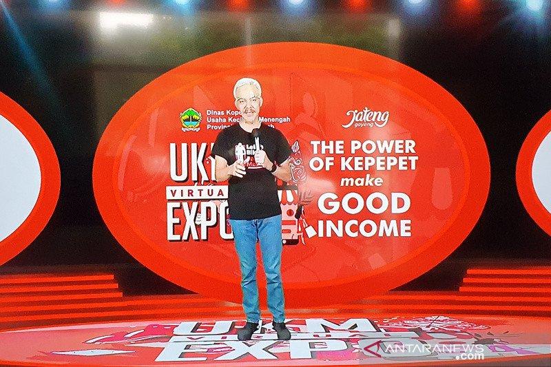 Gubernur Jateng buka UKM Virtual Expo 25-27 Oktober 2020