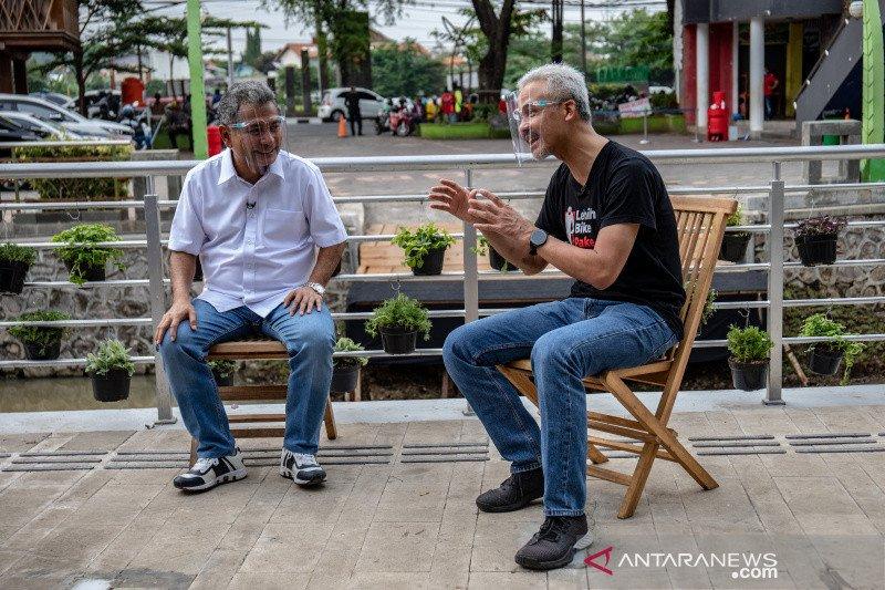 Gerakkan ekonomi, BRI bersihkan Sungai Kalisari Semarang
