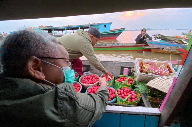 Haris Ilham janji bakal tata kembali Pasar Terapung Kuin