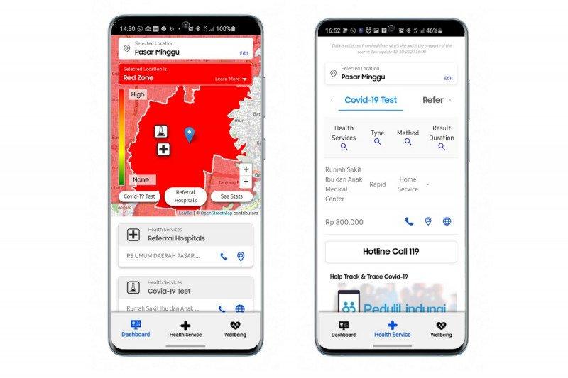 Samsung hadirkan aplikasi pemantau COVID-19 untuk pengguna Indonesia