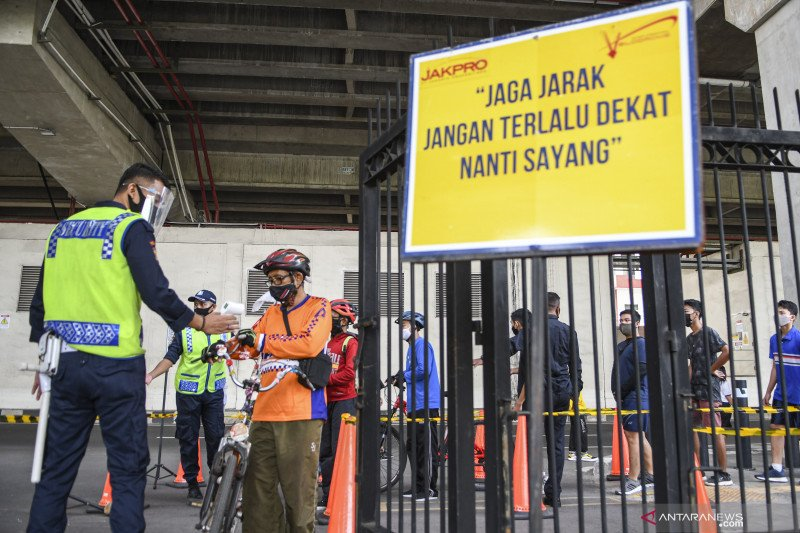 DKI Jakarta perpanjang PSBB transisi hingga 8 November 2020