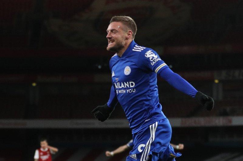 Leicester mencatat kemenangan pertama di kandang Arsenal dalam 47 tahun