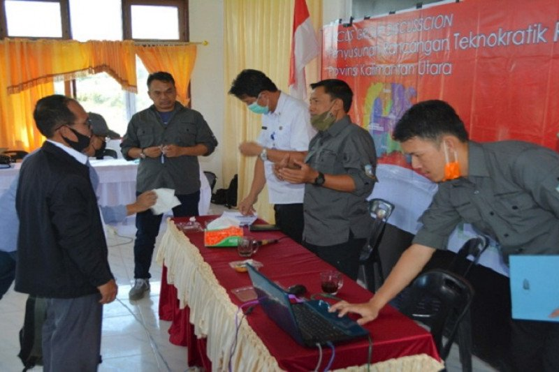 Bappeda-Litbang susun rancangan teknokratik RPJMD 2022-2026