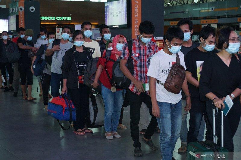 502 pekerja migran ilegal dipulangkan dari Malaysia
