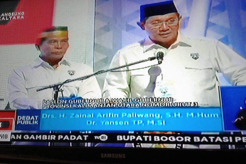 Zainal - Yansen berkomitmen untuk gandeng KPK dalam pelaksanaan proyek