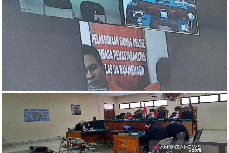 Hakim Pengadilan Banjarmasin vonis seumur hidup dua terdakwa 32 kg narkotika