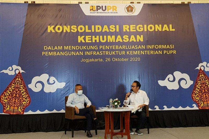Kementerian PUPR gandeng PWI gelar konsolidasi regional