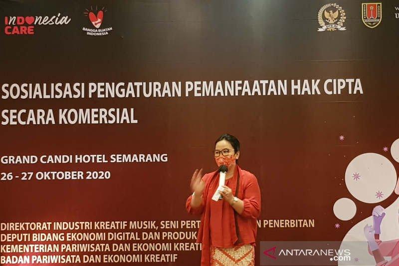 Agustina Wilujeng dorong industri  kreatif sadar hak cipta