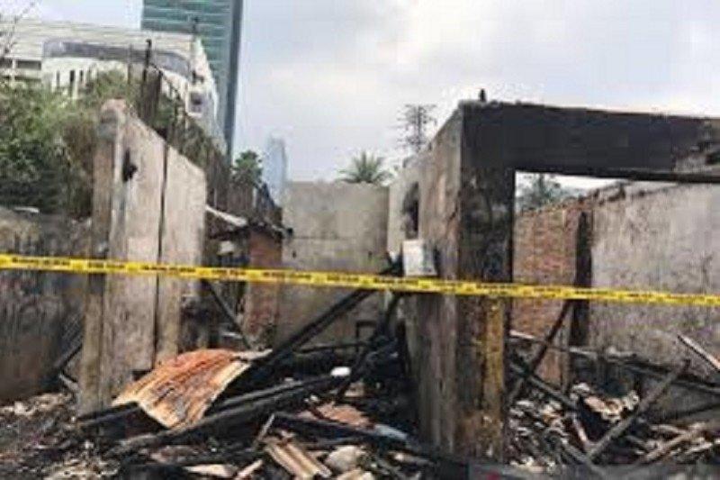 Kebakaran parkir motor dekat Mal Senayan City sudah berhasil dipadamkan