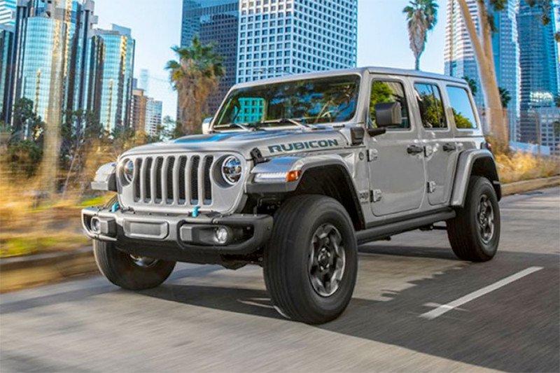 Jeep Wrangler listrik tiba di Asia awal tahun depan