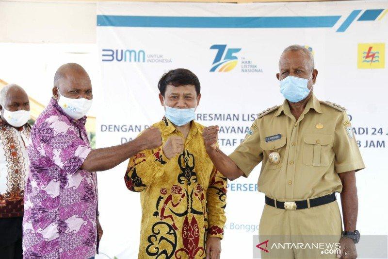 PLN Papua tingkatkan jam nyala pada lima distrik di Kabupaten Sarmi