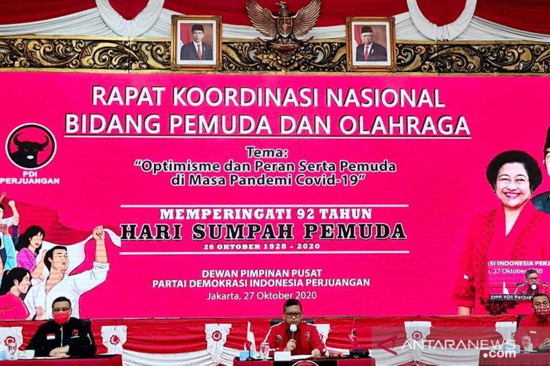 Sambut Hari Sumpah Pemuda, PDIP Gelorakan semangat muda hadapi COVID-19
