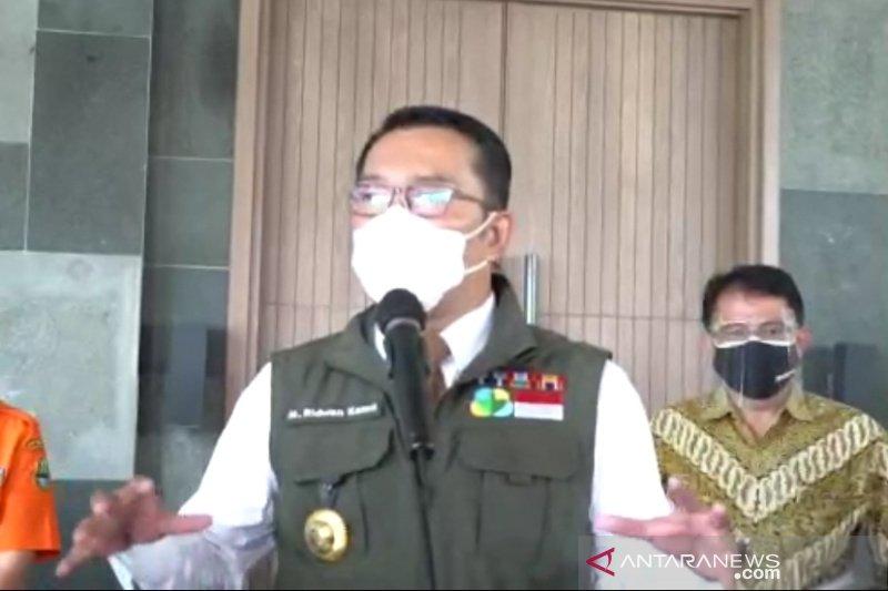 Gubernur Jawa Barat imbau hotel batasi tamu 50 persen saat libur panjang