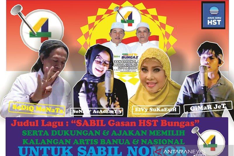 Video-Gelorakan semangat juang relawan, Arus Biru HST ciptakan lagu untuk SABIL
