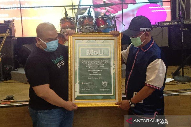 TaniHub gandeng Wong Solo pasok hasil pertanian